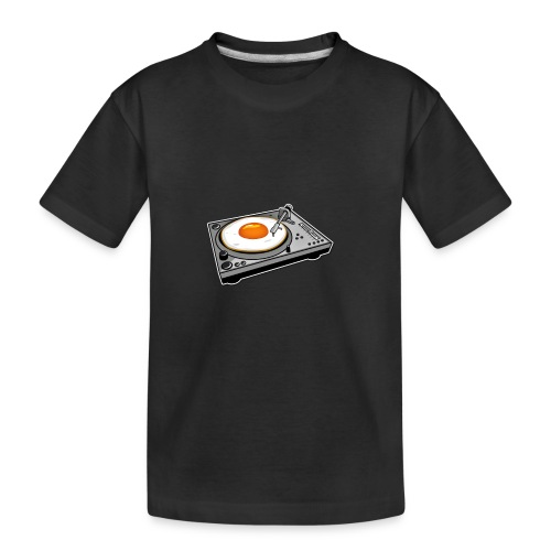 Ei Scratcher Dj - Teenager Premium Bio T-Shirt