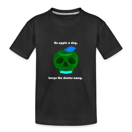 An apple a day - Teenager Premium Bio T-Shirt