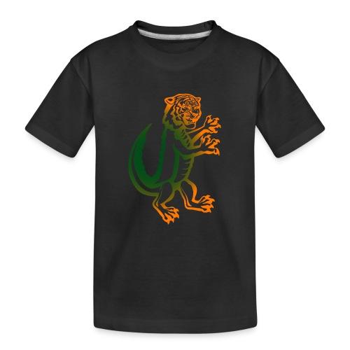 DerTiKro nur Tieger - Teenager Premium Bio T-Shirt