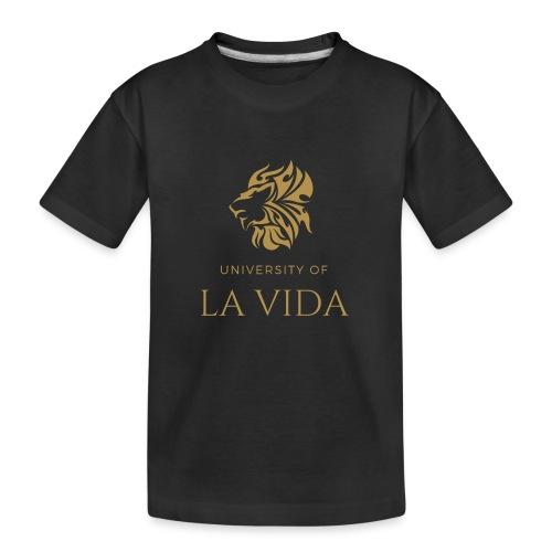 University of LA VIDA - Ekologisk premium-T-shirt tonåring