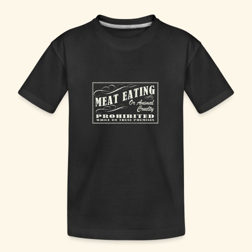 Prohibition Sign - Teenager Premium Organic T-Shirt