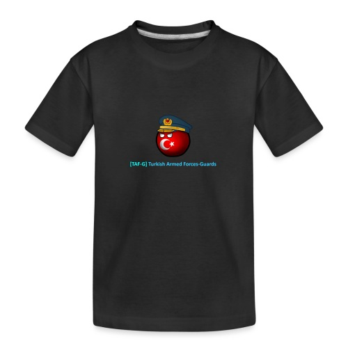World of tanks - TAF-G clan gear! - Teenager Premium Organic T-Shirt