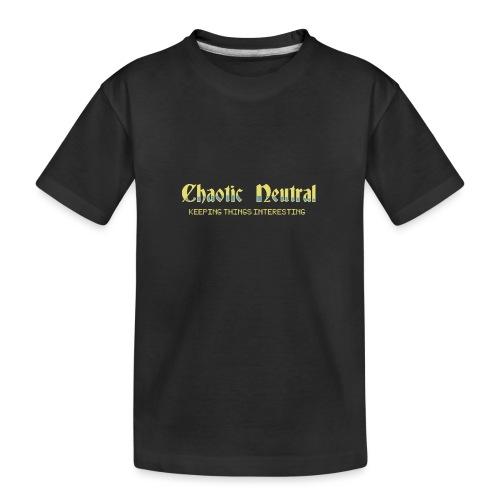 Chaotisch Neutral - Teenager Premium Bio T-Shirt