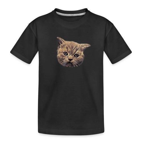Chat - T-shirt bio Premium Ado