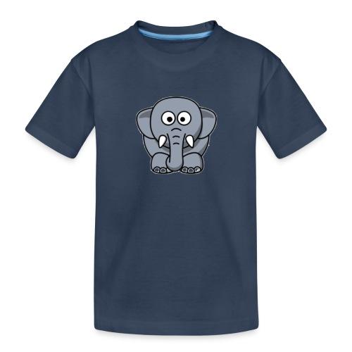 Olifantje - Teenager premium biologisch T-shirt