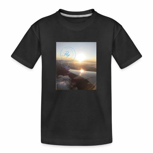 Fly - Teenager premium biologisch T-shirt