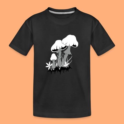 champignons - T-shirt bio Premium Ado