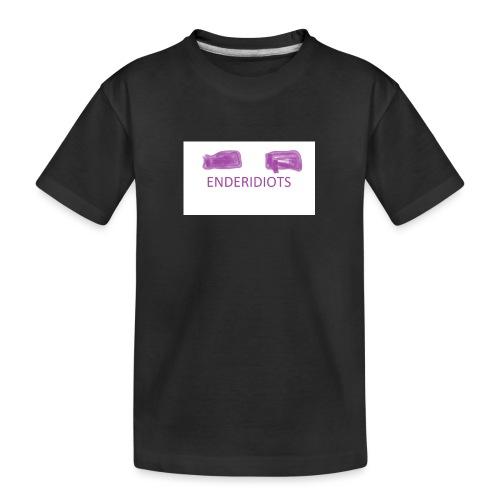 enderproductions enderidiots design - Teenager Premium Organic T-Shirt