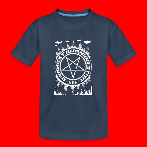 Darkest Burning Star - Teenager Premium Organic T-Shirt