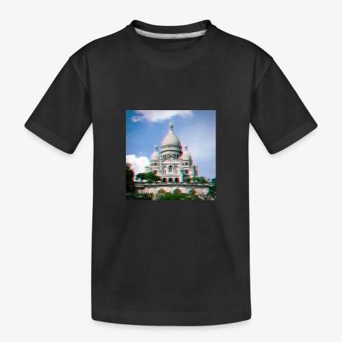 SacreCoeur Anaglyph - Teenager Premium Bio T-Shirt