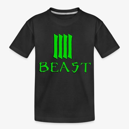 Beast Green - Teenager Premium Organic T-Shirt