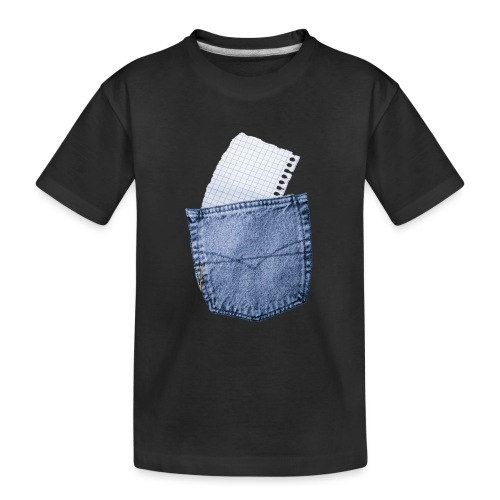 Jeans Baggy by #OneCreativeArts - Teenager Premium Bio T-Shirt
