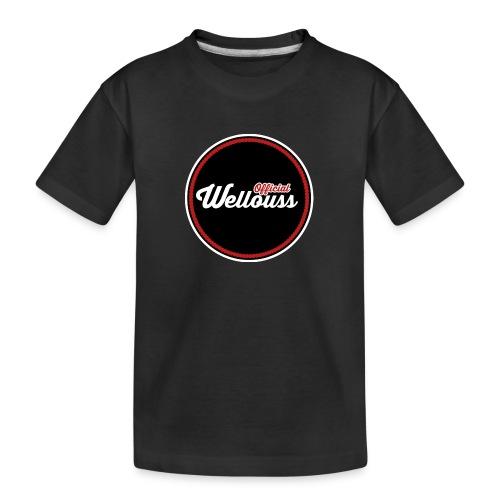 Wellouss Fan T-shirt   Rood - Teenager premium biologisch T-shirt
