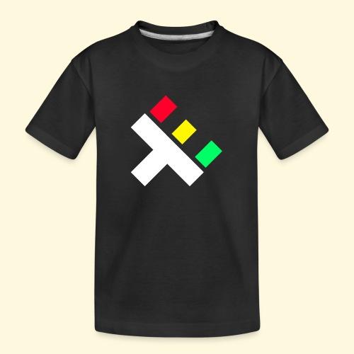 Clan Logo - Rasta - Teenager Premium Organic T-Shirt