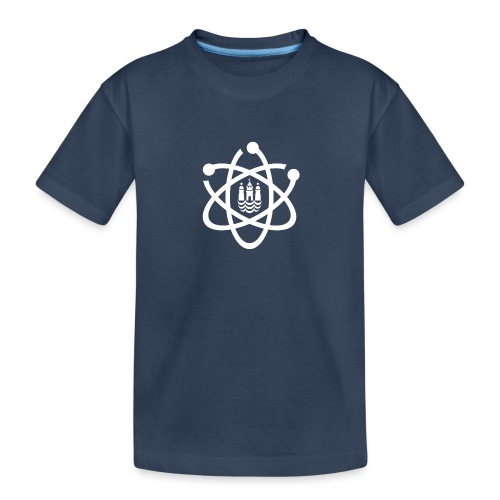 March for Science København logo - Teenager Premium Organic T-Shirt