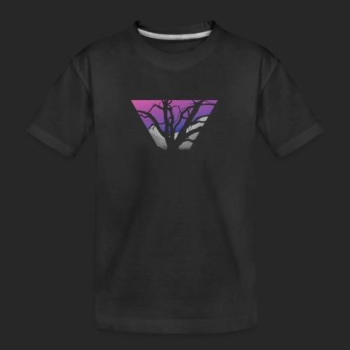 Purple Branches - Teenager Premium Organic T-Shirt