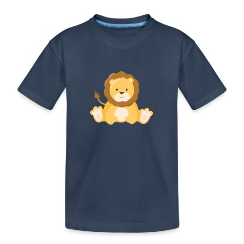 SAFARI Löwe - Teenager Premium Bio T-Shirt