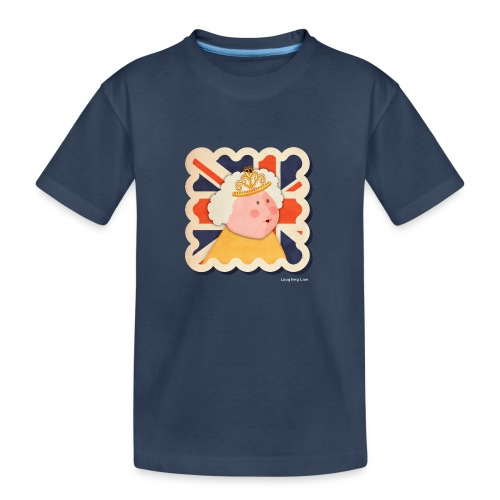 The Queen - Teenager Premium Organic T-Shirt