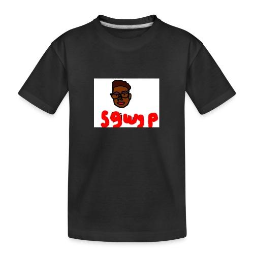 logosgwsp - Teenager premium biologisch T-shirt