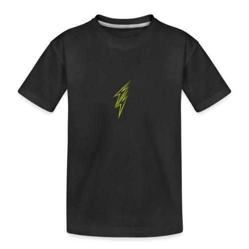 fulmine - Maglietta ecologica premium per ragazzi