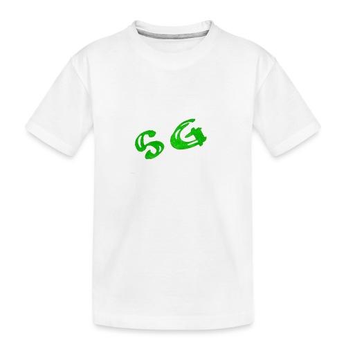 StreamGangster - Teenager premium biologisch T-shirt