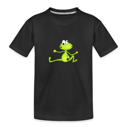 Lustiger Frosch - Teenager Premium Bio T-Shirt