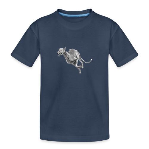 Greyhound - Teenager premium T-shirt økologisk