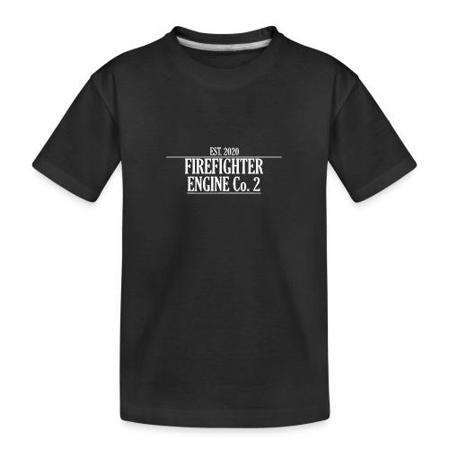 Firefighter ENGINE Co 2 - Teenager premium T-shirt økologisk