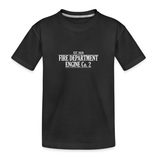 ENGINE Co 2 - Teenager premium T-shirt økologisk
