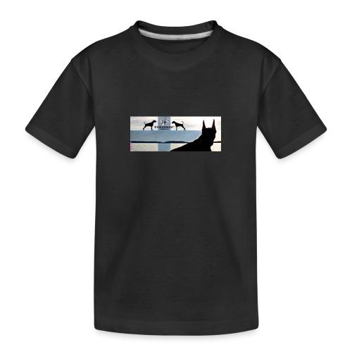 FBtausta - Teinien premium luomu-t-paita