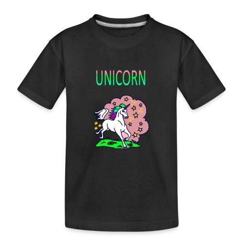 Einhorn unicorn - Teenager Premium Bio T-Shirt