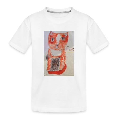 fox - Teenager Premium Organic T-Shirt