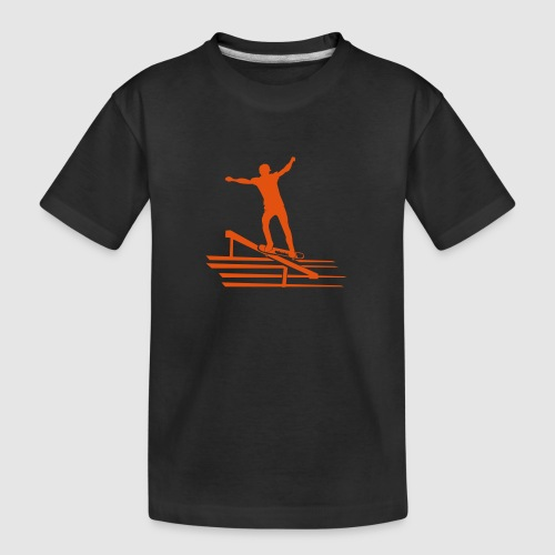 Skateboard - Teenager Premium Bio T-Shirt