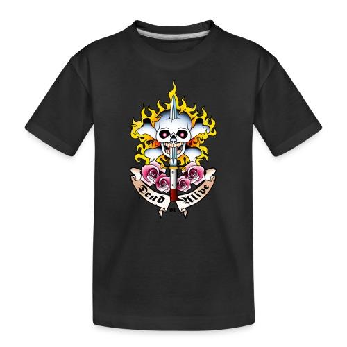 Dead or Alive - Tattoo Design - T-shirt bio Premium Ado