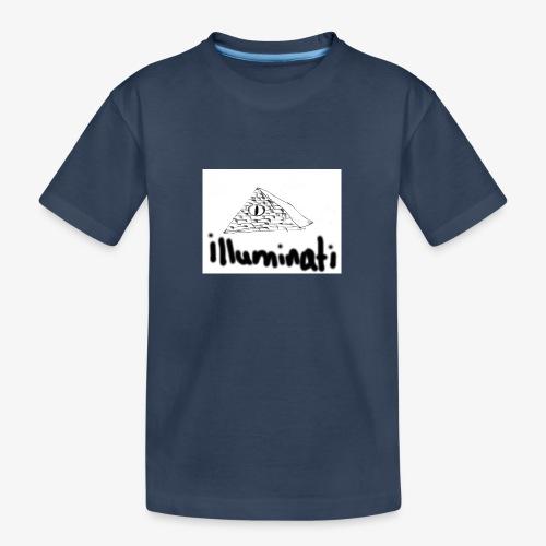 illuminati - Teenager Premium Organic T-Shirt