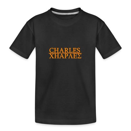 CHARLES CHARLES ORIGINAL - Teenager Premium Organic T-Shirt