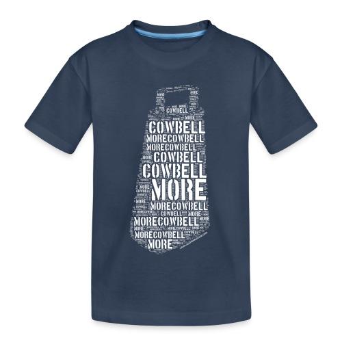 More Cowbell (White) - T-shirt bio Premium Ado