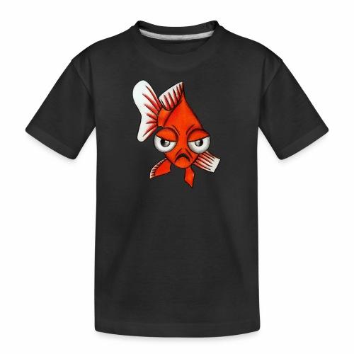 Boze vis - Teenager premium biologisch T-shirt