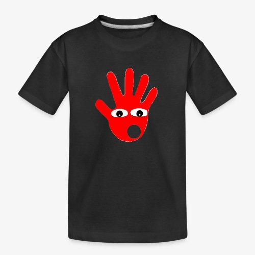 Hände mit Augen - T-shirt bio Premium Ado