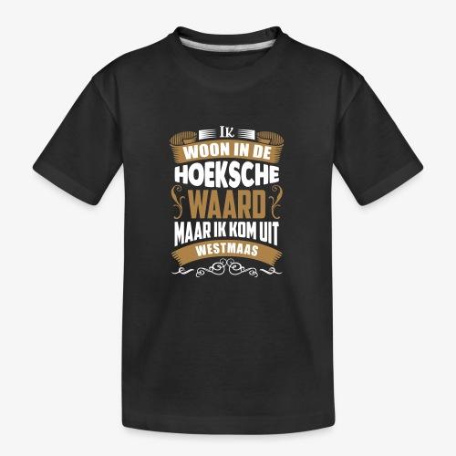 Westmaas - Teenager premium biologisch T-shirt