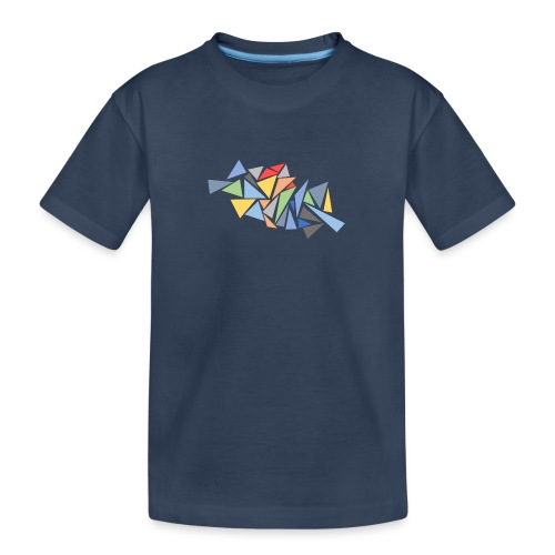 Modern Triangles - Teenager Premium Organic T-Shirt