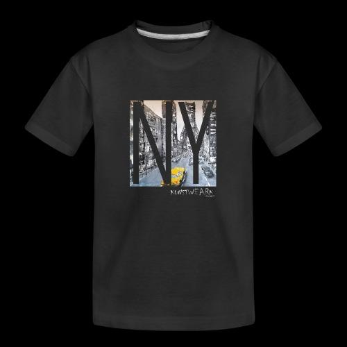 TIME SQUARE - Teenager Premium Bio T-Shirt