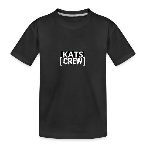 KATS CREW Logo - Ekologiczna koszulka młodzieżowa Premium
