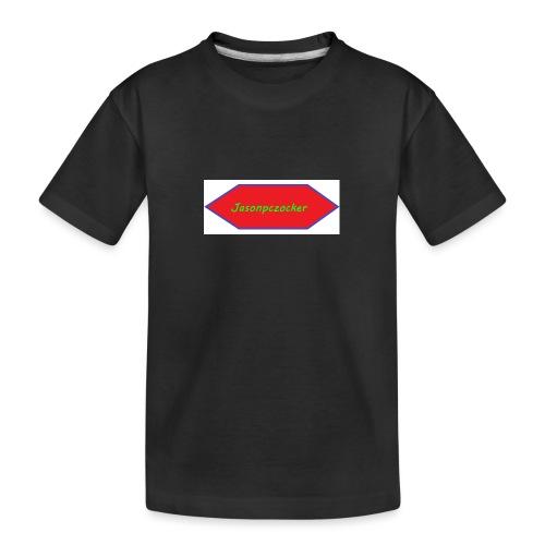 Kanalbild ohne hintergrund mit fühlung - Teenager Premium Bio T-Shirt