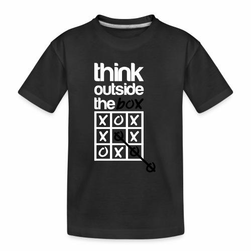 Think outside the box - Teenager Premium Organic T-Shirt