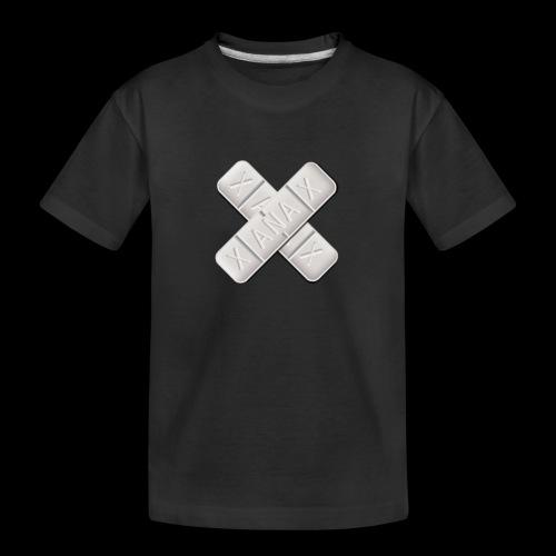 Xanax X Logo - Teenager Premium Bio T-Shirt