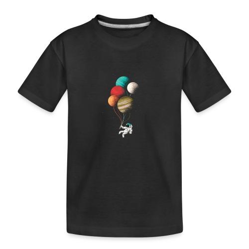 Astronaut balloons - Teenager Premium Bio T-Shirt