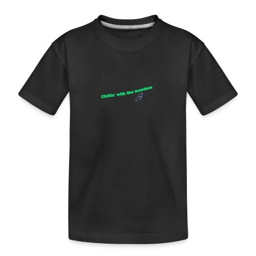 chillin' - Teenager Premium Organic T-Shirt