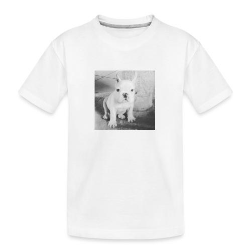 Billy Puppy - Teenager premium biologisch T-shirt