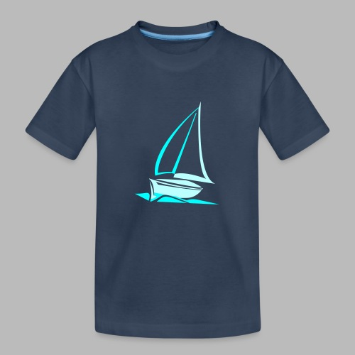 segelyacht - Teenager Premium Bio T-Shirt